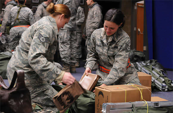 Air National Guard Responds to Hurricane Sandy